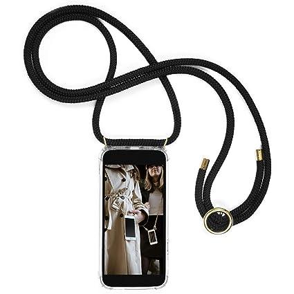 Schnur mit Case Zum umh/ängen in Rainbow,Schwarzes Gold Handyanh/änger H/ülle f/ür Huawei Mate 20,Pouch Bag Mode-Accessoire Handytasche Smartphone Necklace HandyH/ülle mit Band