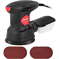 Deals on Meterk 5-in Random Orbit Sander Machine with 12Pc Sandpapers