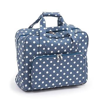 Hobby regalo mr4660//271/| 20/x 43/x 37/cm mate PVC M/áquina de coser bolsa /Denim de lunares /