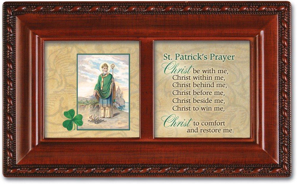 売上実績NO.1 ST B007P7YZKC ST PATRICKS Prayer PATRICKS Cottage Garden木目調小柄音楽ボックスPlaysアイルランドの子守歌 B007P7YZKC, あっお勧め!素敵生活のナイスデイ:93797199 --- arcego.dominiotemporario.com