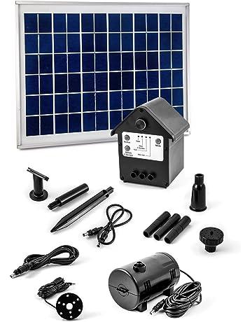 CLGarden NASP3 Bomba solar de la fuente con el panel solar de 10 vatios, batería