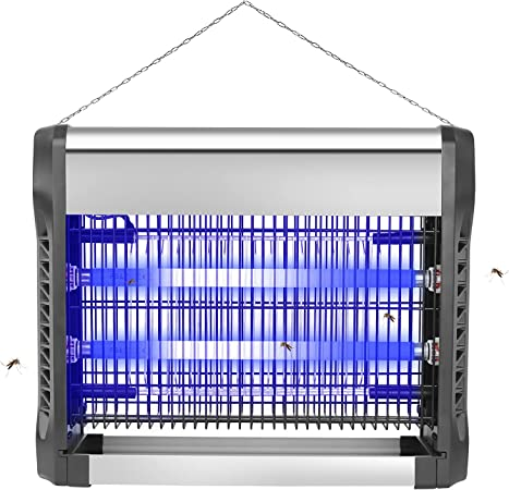Loytio Bug Zapper, 2-in-1 Electric Mosquito Zapper, Powerful 3000V Indoor and Outdoor Insect Killer, Portable Fruit Fly Trap Lamp Attraction for Mosquito, Moth, Wasp, Beetle Other Pests