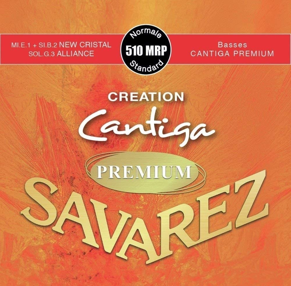 Savarez Cuerdas Para Guitarra Clásica Creation Cantiga Premium Juego Tensión Normal