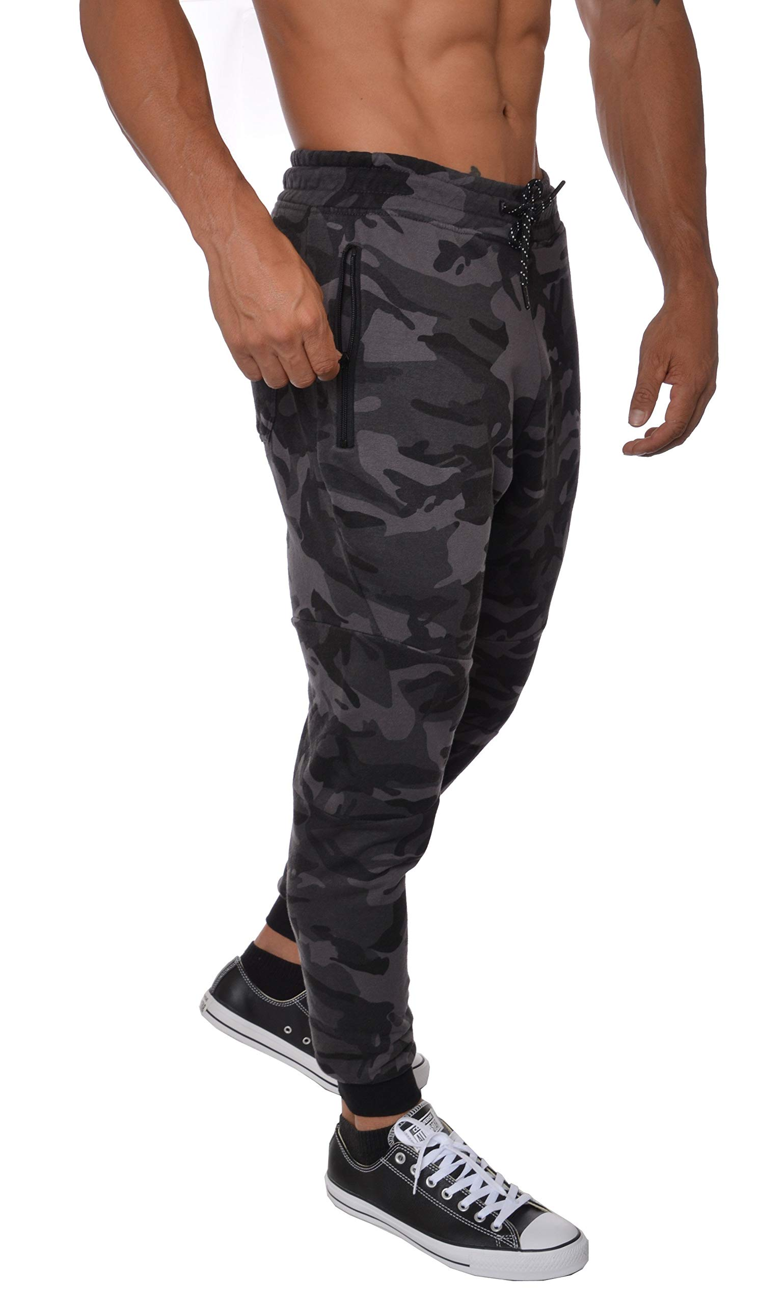 c550f7499c5b4 YoungLA French Terry Cotton Sweatpants Jogger Pants
