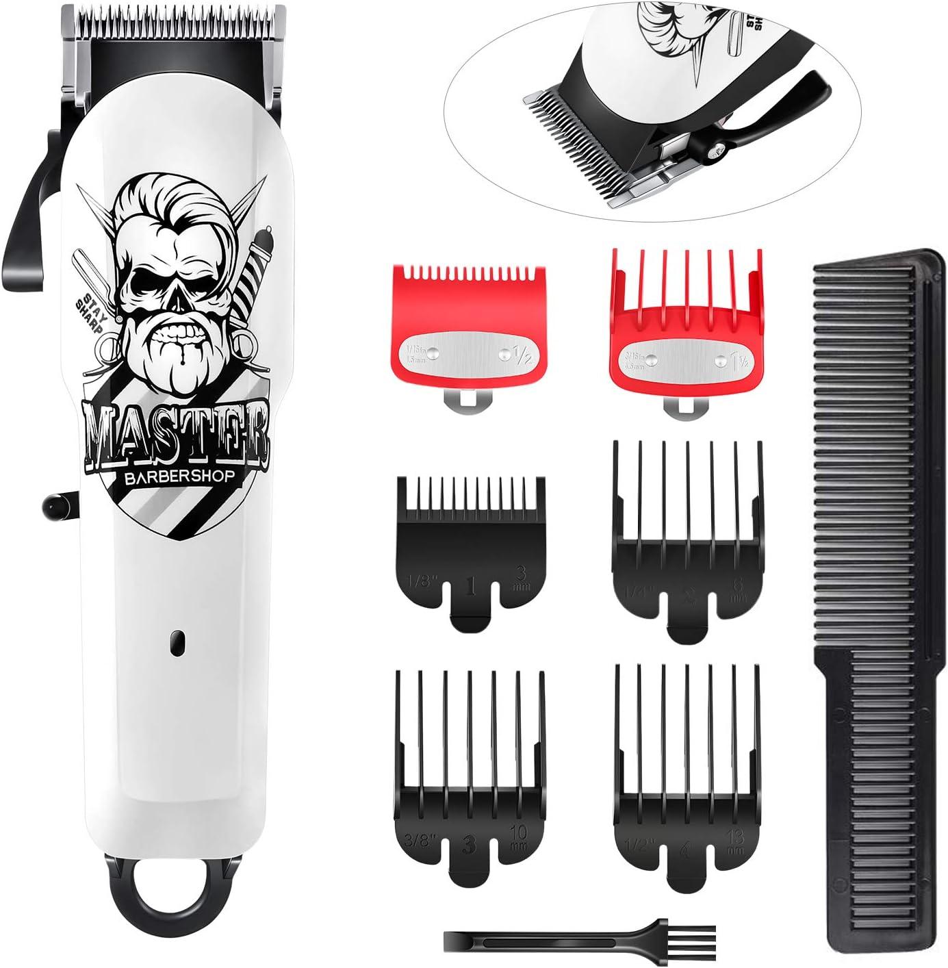 Surker Cortapelos Para Hombres Kit De Aseo Profesional Para Recortar La Barba Sin Cable Recargable