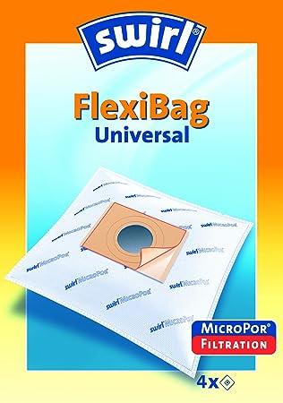 Swirl 206506 Flexibag - Bolsas universales para aspirador ...
