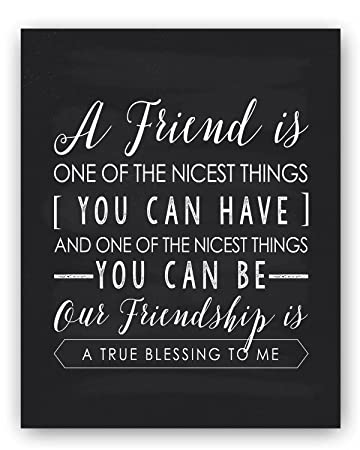 Amazon Friendship Gift Friend Quote Sign Unique Friendship Fascinating A Quote About Friendship