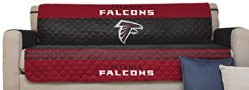 Charmant NFL Atlanta Falcons Sofa Couch Reversible Furniture Protector With Elastic  Straps, 75 Inches By