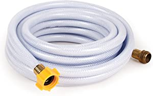 """Camco 25ft TastePURE Drinking Water Hose - Lead and BPA Free, Reinforced for Maximum Kink Resistance 1/2""""Inner Diameter (22733)"""