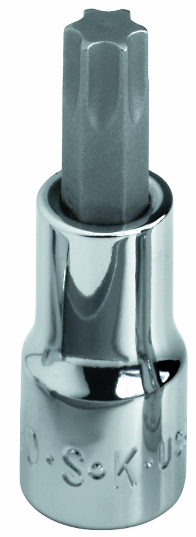 SK Hand Tool 42930 Torx T30 Drive Bit Socket, 1/4-Inch, Chrome