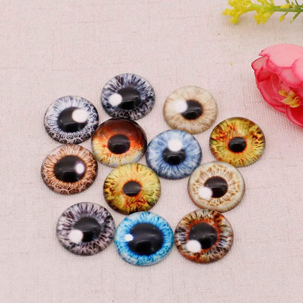 SUPVOX Occhi per bambole occhi adesivi per pupazzi 20 pezzi