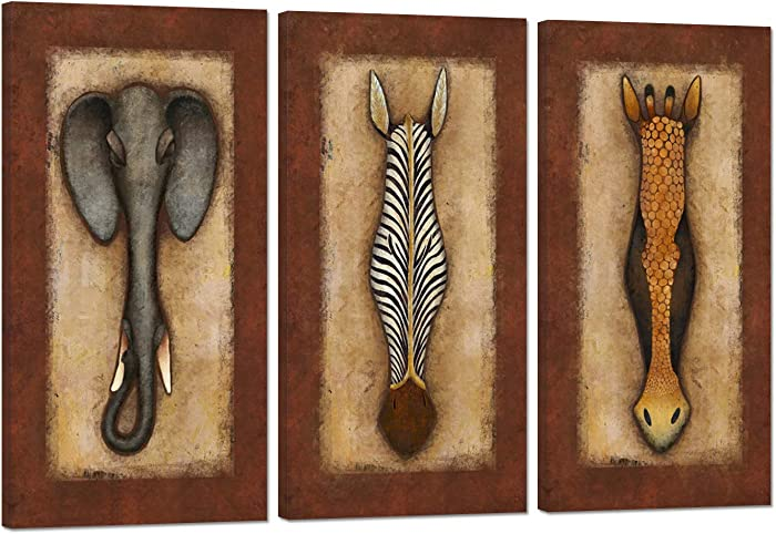 The Best Fair Trade African Wood Mask Wall Decor Zebra