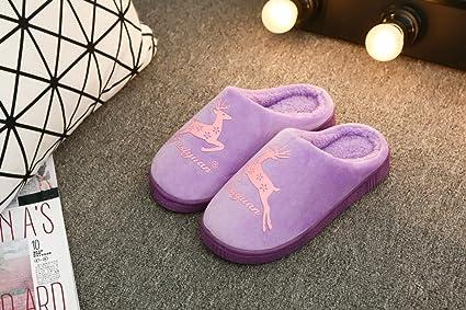zapatillas de Las Anti algodón Home Indoor Pretty Young Winter Yfv76ybg