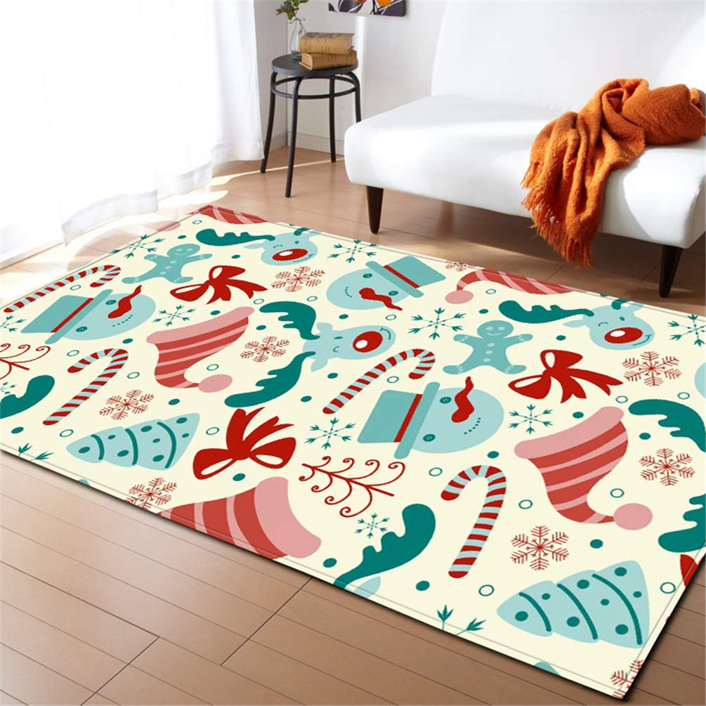 Un tappeto natalizio per il soggiorno