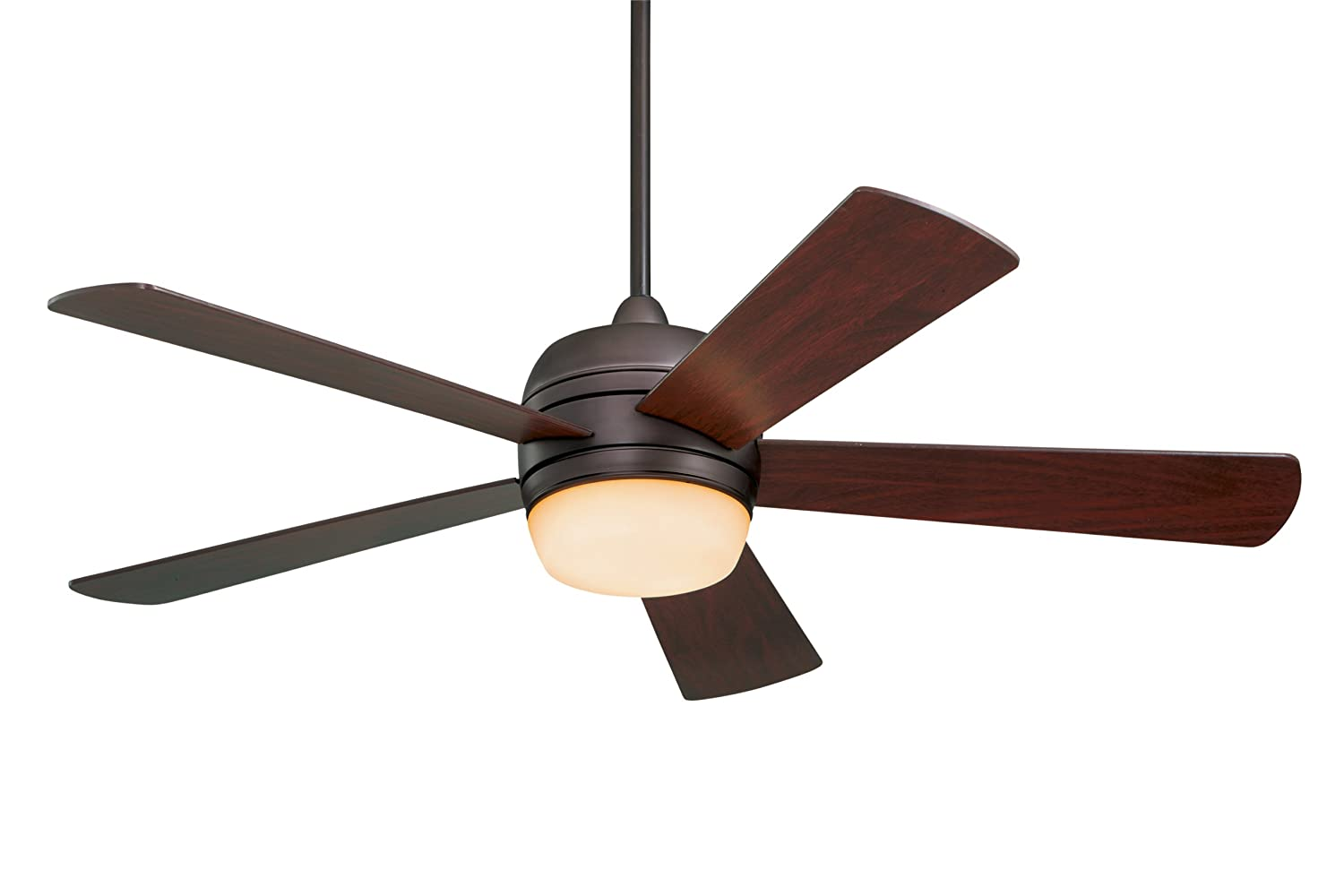 Emerson Ceiling Fans Cf930orb Atomical 52 Inch Modern Indoor Outdoor Fan With Light And Remote Damp Rated Oil Rubbed Bronze Finish
