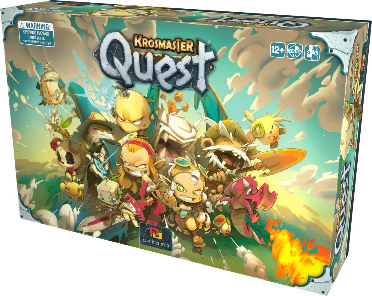 Krosmaster Quest Core Box Flat River Group KMQ001