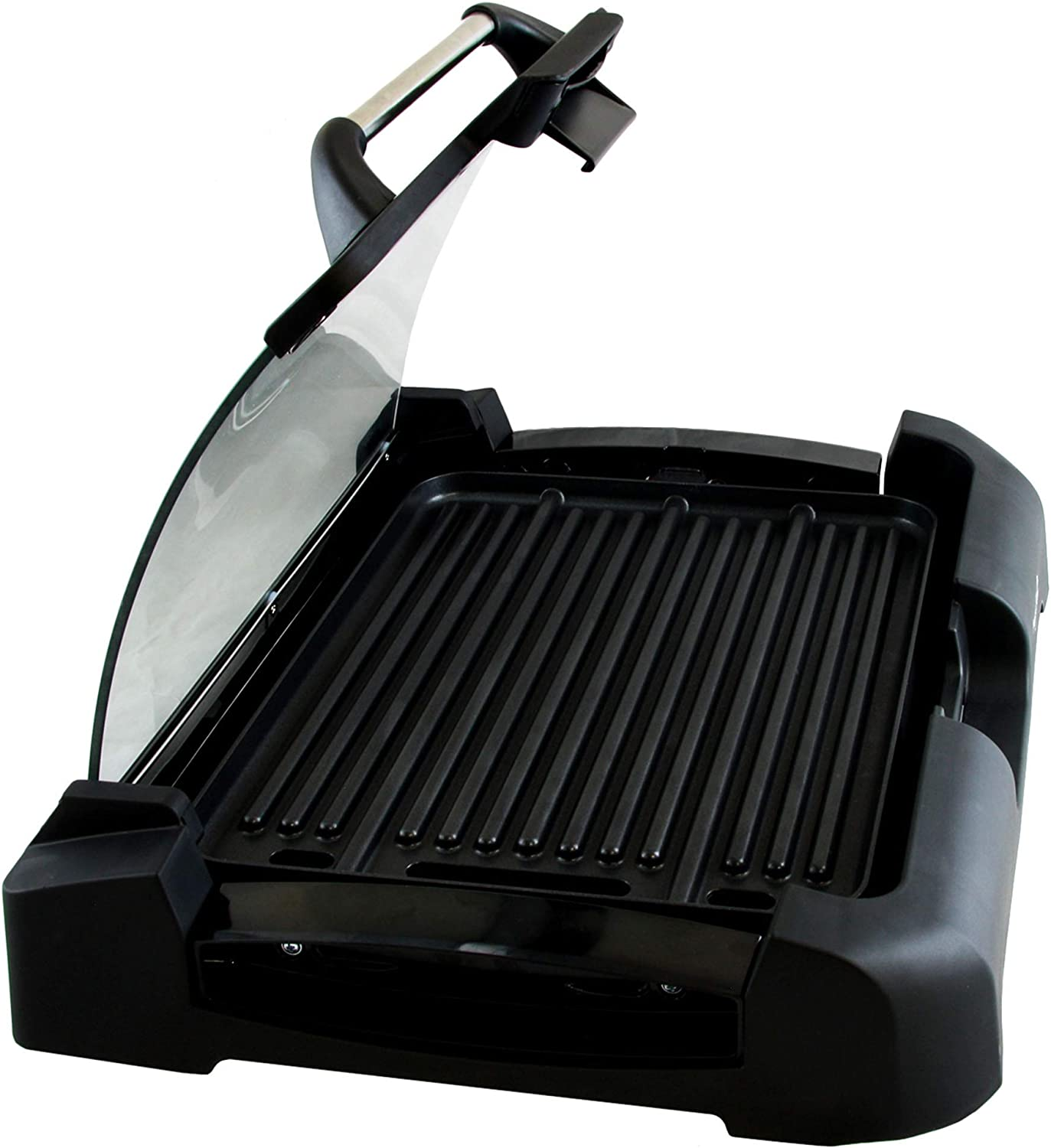 MegaChef Heavy Gauge Aluminum Reversible Indoor Grill and Griddle
