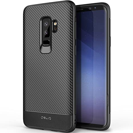 Obliq Coque Galaxy S9 Plus,  Flex Pro   Noir Carbone , Coque Premium ... e228fc0bcaf8