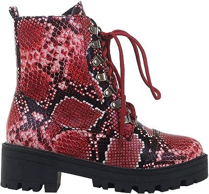 SaraIris Combat Boots for Women Autumn