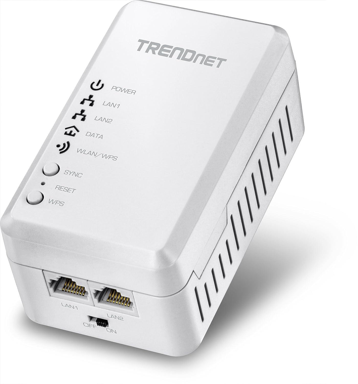 TRENDnet Powerline 500 AV Access Point WiFi Everywhere Wireless N300 Access Point, 500 AV Powerline and Wireless N 300, TPL-410AP INC