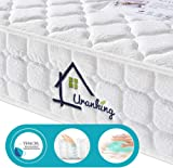 Ej. Life 4FT6 Double TENCEL Fabric Pocket Sprung and Memory Foam Mattress - 100 Nights Trial