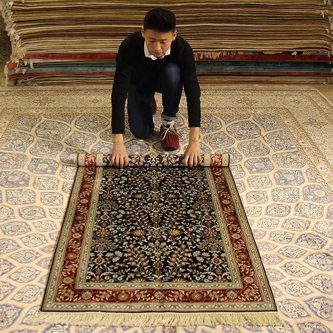 Alfombra YILONG de 3 x 5 pies Oriental Tradicional Alfombra