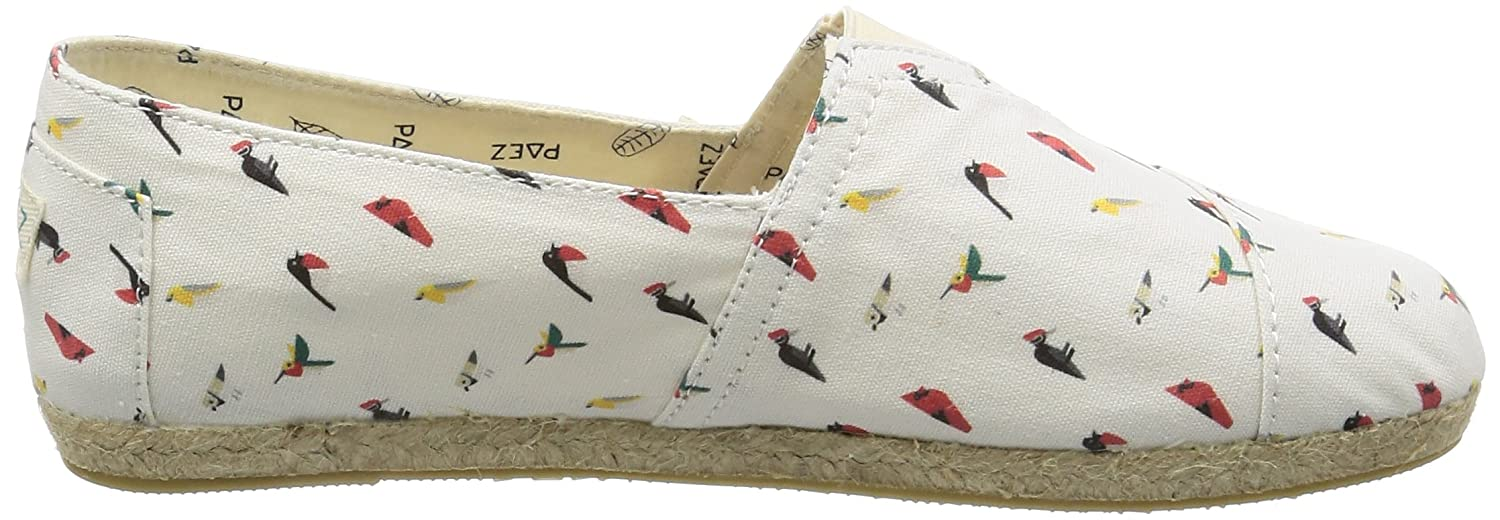 Paez Damen Original Birds) Raw-Prints Espadrilles Mehrfarbig (Multicolor Birds) Original bd98d0