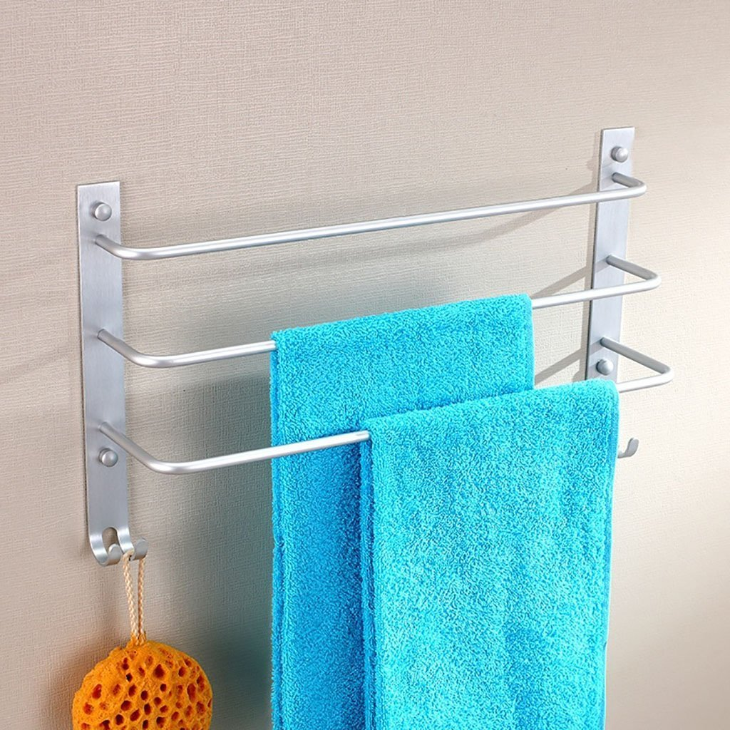 DACHUI Bath rooms linearly in the aluminum towel rail hanging rack 3-animal bath bath rooms rooms towel rail towel rail by DACHUI (Image #3)