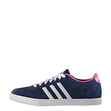 adidas Courtset W - Chaussures Sportives pour Femmes, Bleu ...
