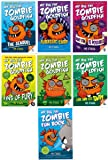 7 Books: My Big Fat Zombie Goldfish, The Sequel, Fins of Fury, Any Fin is Possible, Live and Let Swim, Jurassic Carp, Big Fat Zombie Fun Book