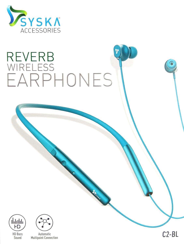 Syska C2 Bl Reverb Wireless Earphones Amazon In Electronics