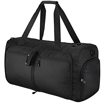 Travel Duffel Bag OMorc 60L Large Foldable Sports And Gym Duffle Water