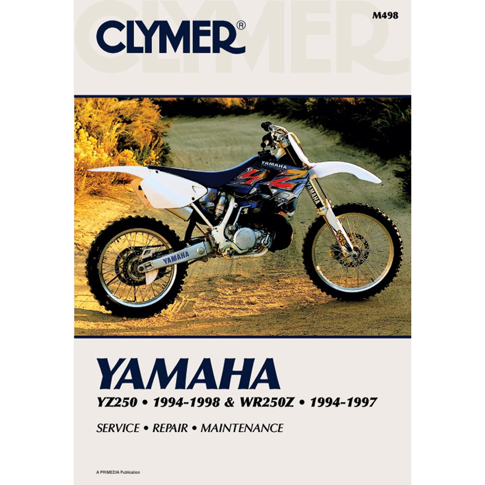 Amazon.com: Clymer Repair Manual for Yamaha YZ250 WR250 YZ/WR-250 94-98:  Automotive