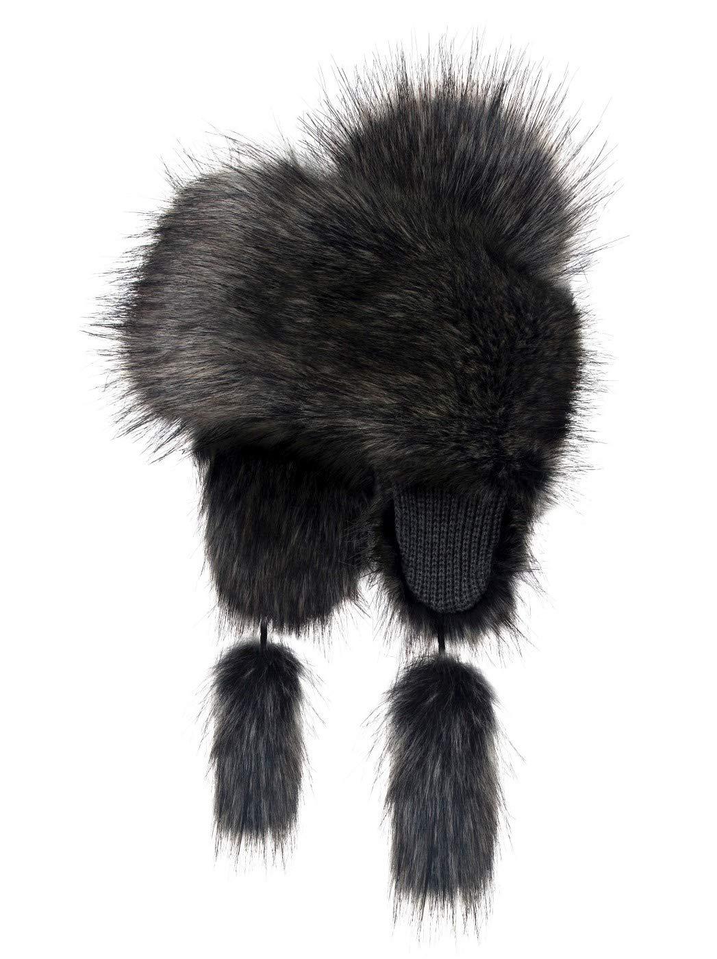 Futrzane Trapper Hat Faux Fox Fur Winter Women Russian Style Futrzane-goralka-8