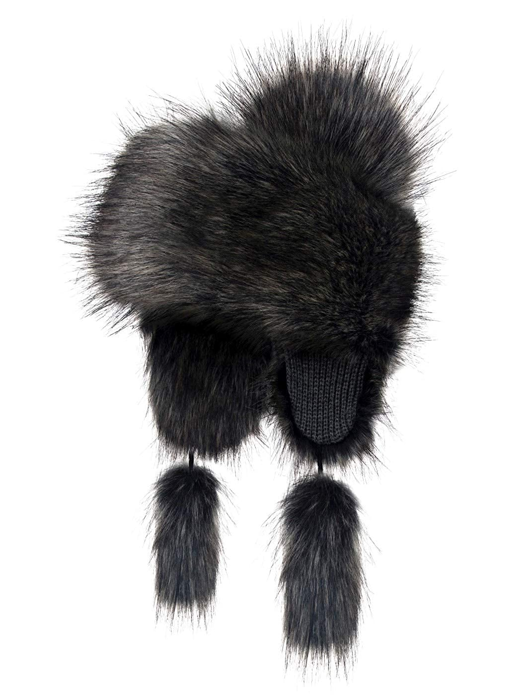 Futrzane Trapper Hat Faux Fox Fur Winter Women Russian Style Futrzane-goralka-13