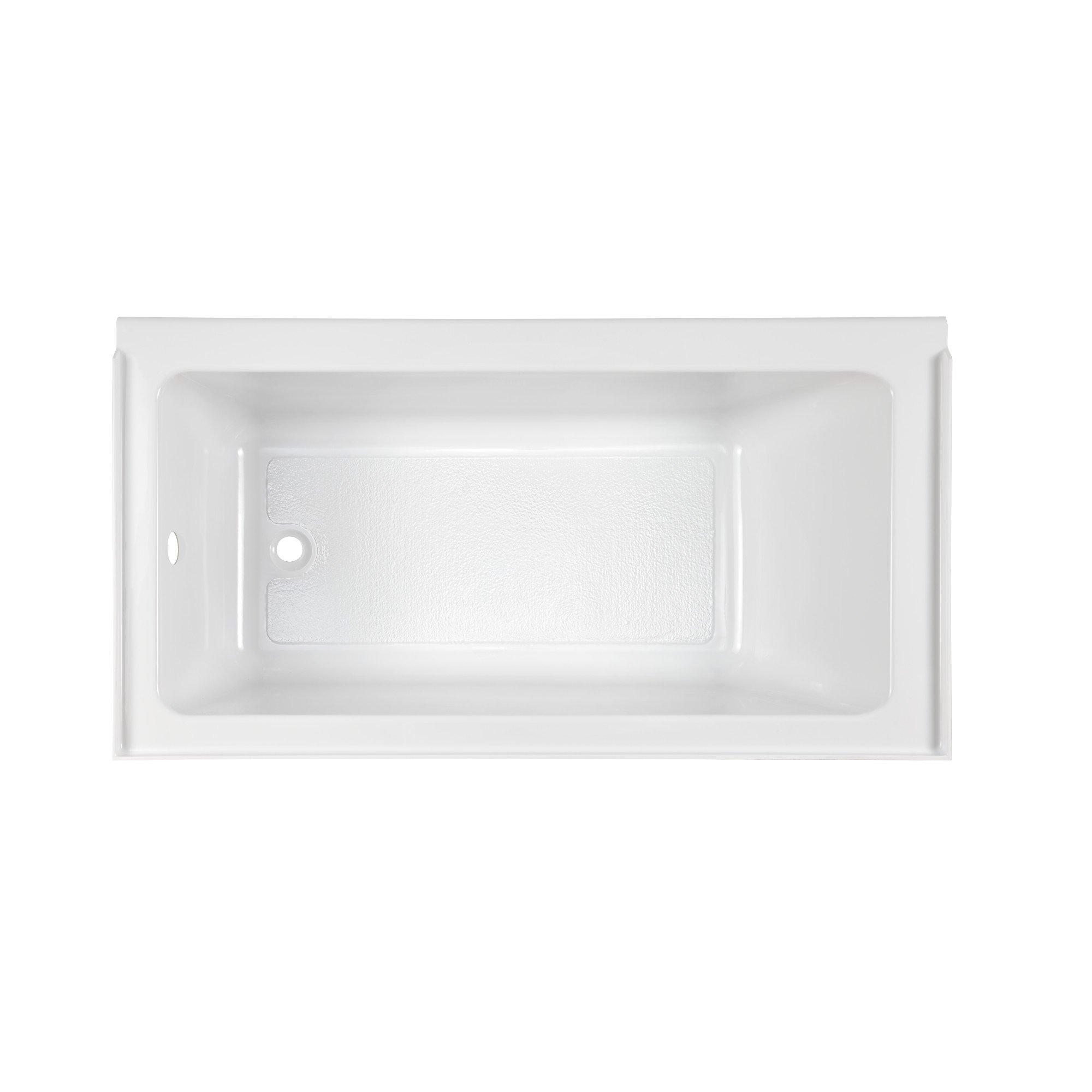 American Standard 2973212.011 Studio Fold Over Edge Tub Lho, 60'' x 30'', Arctic