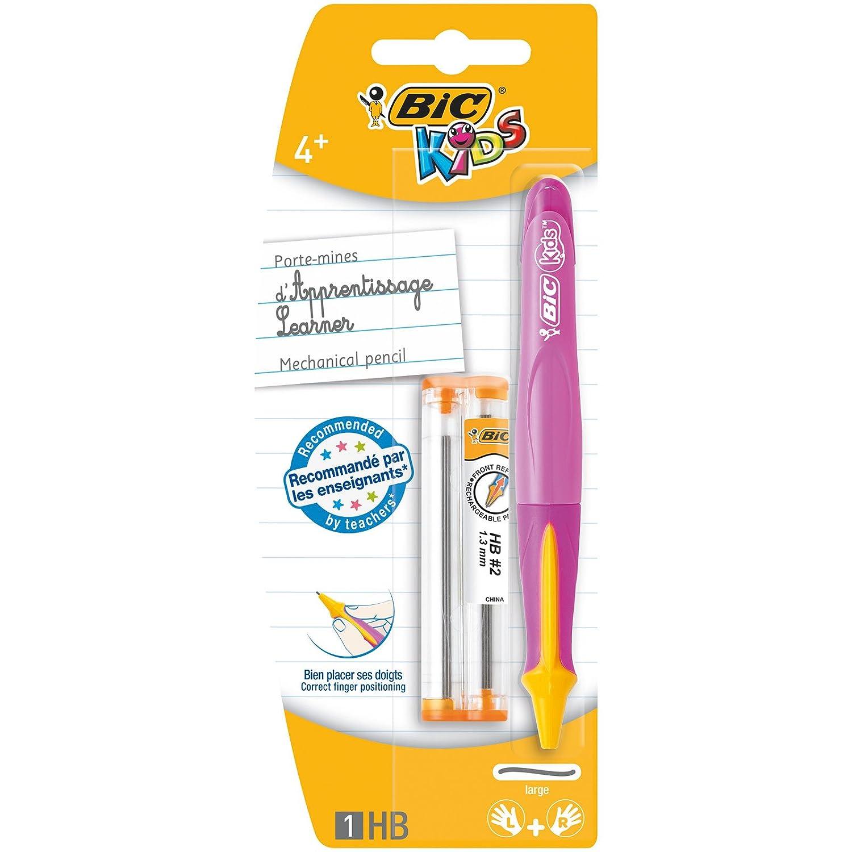 Olówek grafitowy Bic Kids trójkatny Beginners 2 sztuki mix kolorów 919261