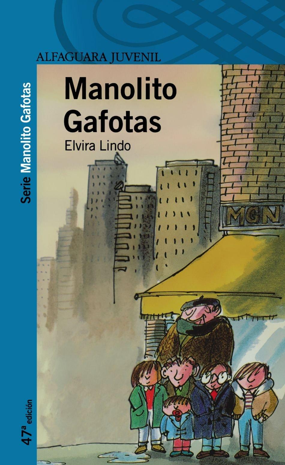 Amazon.com: Manolito Gafotas (Spanish Edition) (9788420464534): Elvira Lindo: Books