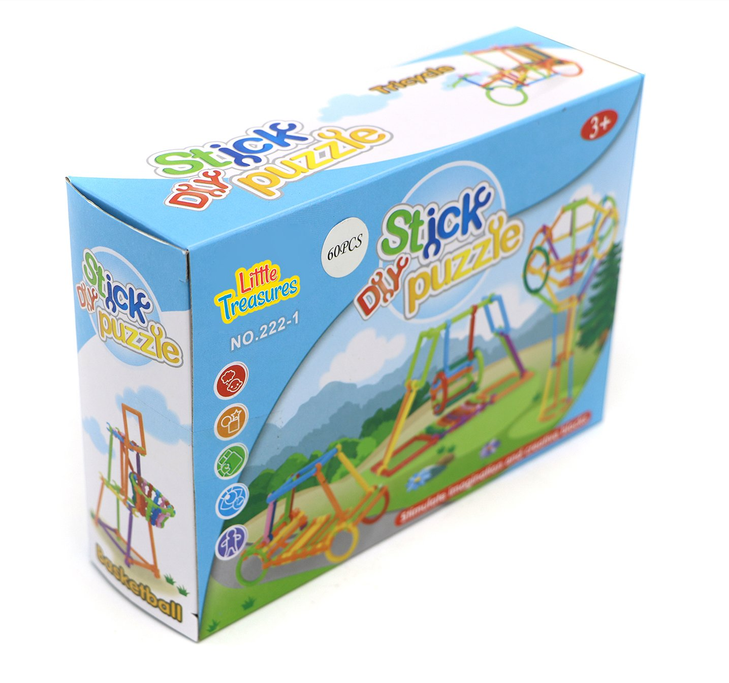 Little Treasures Stix Puzzle Game for Children Kids to Play and Learn While Playing