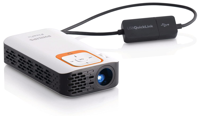 Philips PicoPix - Proyector (30 lúmenes ANSI, DLP, nHD (640x360 ...