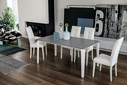 TARGET POINT Tavolo Magellano Bianco: Amazon.it: Casa e cucina