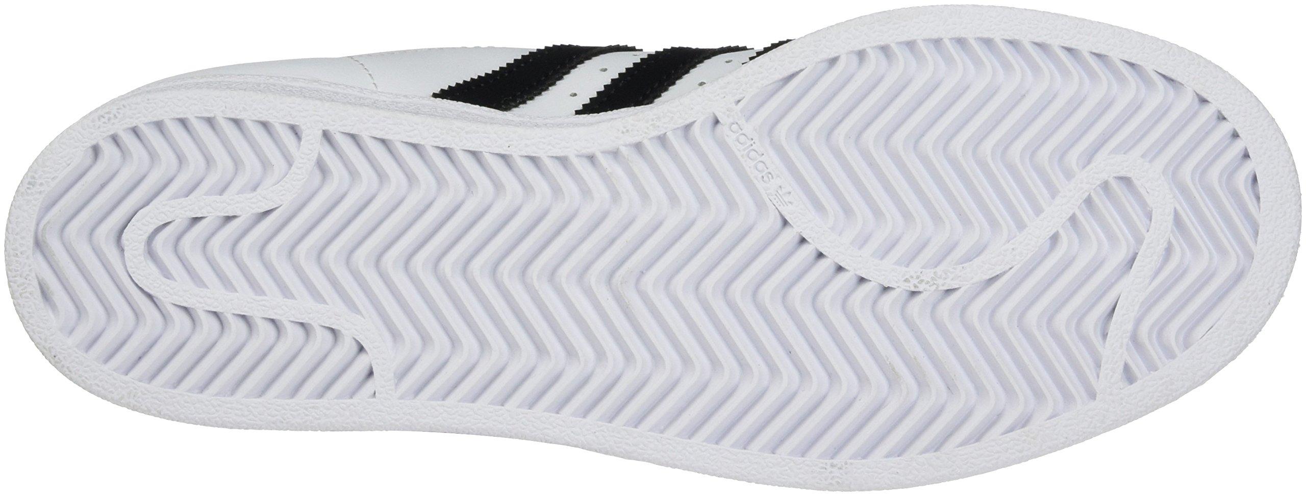 adidas Originals Superstar J Casual Low-Cut Basketball Sneaker (Big Kid) 1410bcffe