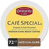 Community Coffee Café特别中等烘焙咖啡胶囊,兼容Keurig 2.0 K杯,全身顺滑全味,纯阿拉比卡咖啡豆,12个,6件