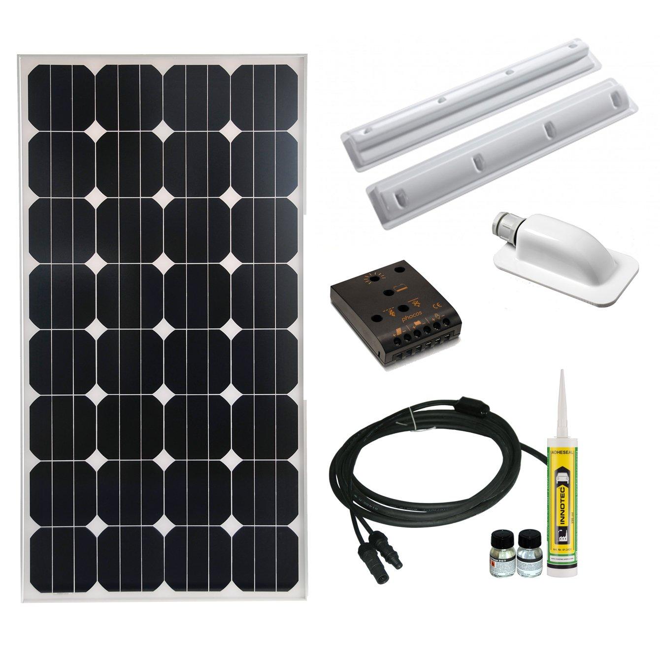 Professionelles Cleversolar 119232KPS Solarmodul Kit, 85 W