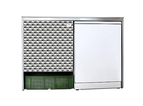 yourdea - mobili adesivo per Ikea udden Mobile da cucina con motivo ...