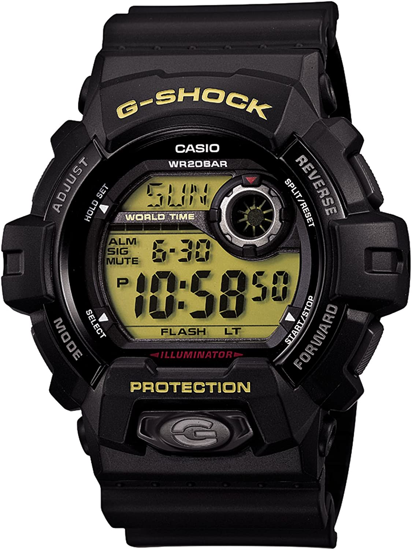 Casio G-Shock Black and Green Standard Japanese Model G8900-1