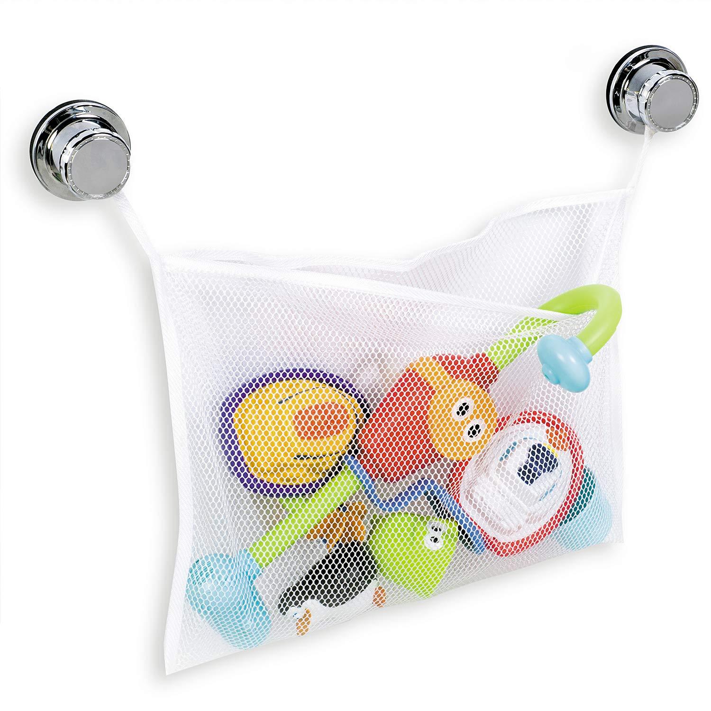 Tatkraft TEDDY Bad Spielzeugnetz, Trocknung Tasche für Spielzeug, Befestigung ohne Bohren