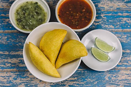 Autenticas Empanadas Colombianas Congeladas Listas para Servir - Frozen Colombian Empanadas Ready to EAT Delivered to your Door (Beef-Carne, ...