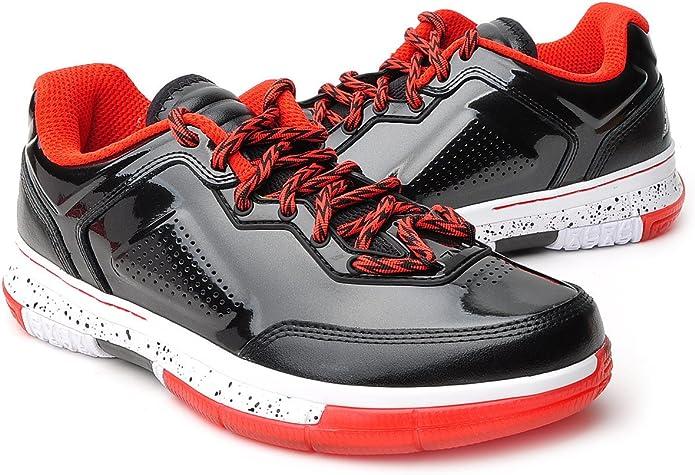 Li Ning - Zapatillas de Baloncesto para Hombres Way of Wade ABAH039 1B - Negro/Rojo, 44: Amazon.es: Zapatos y complementos