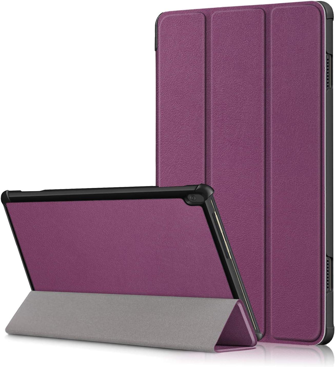 funda purpura para Lenovo Tab M10 HD TB-X505F